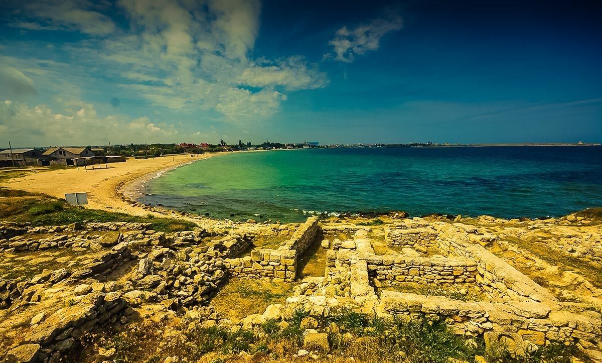 случай черноморское крым фото пляжа источником вдохновения этом