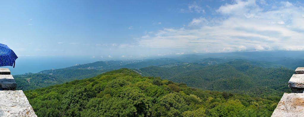 Панорама с Ахуна
